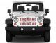 Jeep Gladiator Grill Inserts 2020-Present Gladiator Candy Land Under The Sun Inserts - INSRT-CNDYLND-JT - Image 2