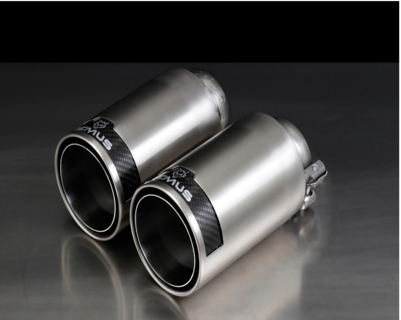 Remus Chromed 98mm Street Race Tail Pipe Set Audi TT 8S 2015
