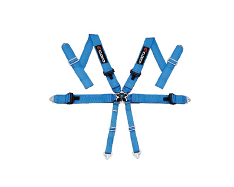 Cusco 6-Point Racing Harness Blue