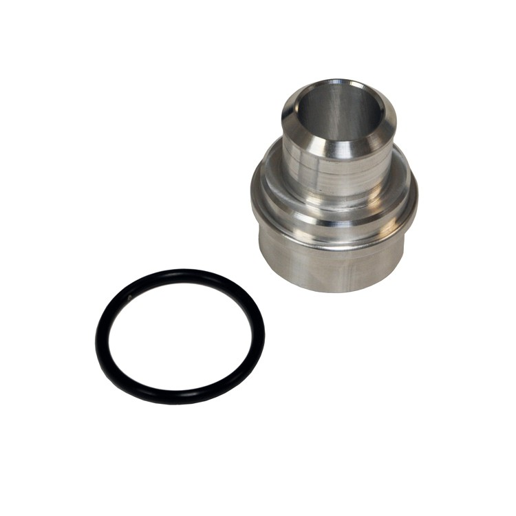 "034 Motorsport Block Breather Adapter, Audi/Volkswagen 1.8T, Billet Aluminum, 1"" Nipple"
