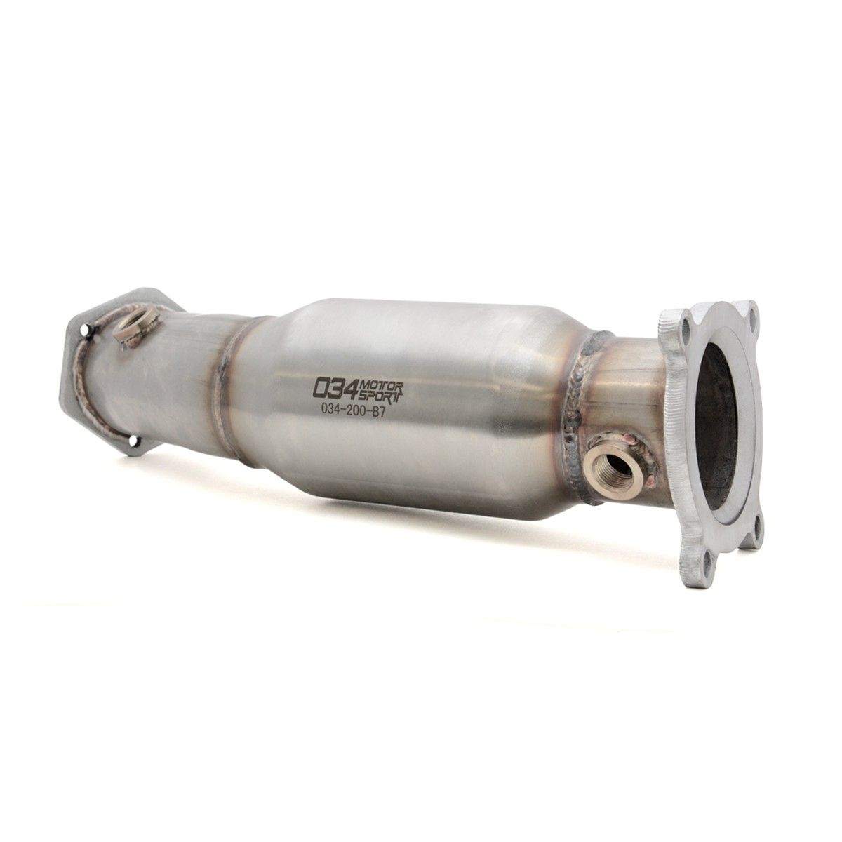 034 Motorsport High Flow Catalytic Converter, B7 Audi A4 2.0T FSI