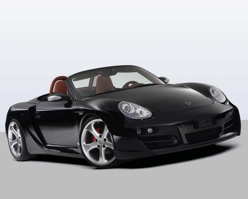 Techart Wide Body Kit With Black Running Lights Porsche