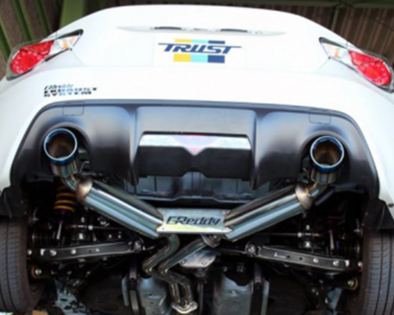 Greddy CS-GTS V.2 Dual Exit Cat Back Exhaust System Scion FRS 13-16