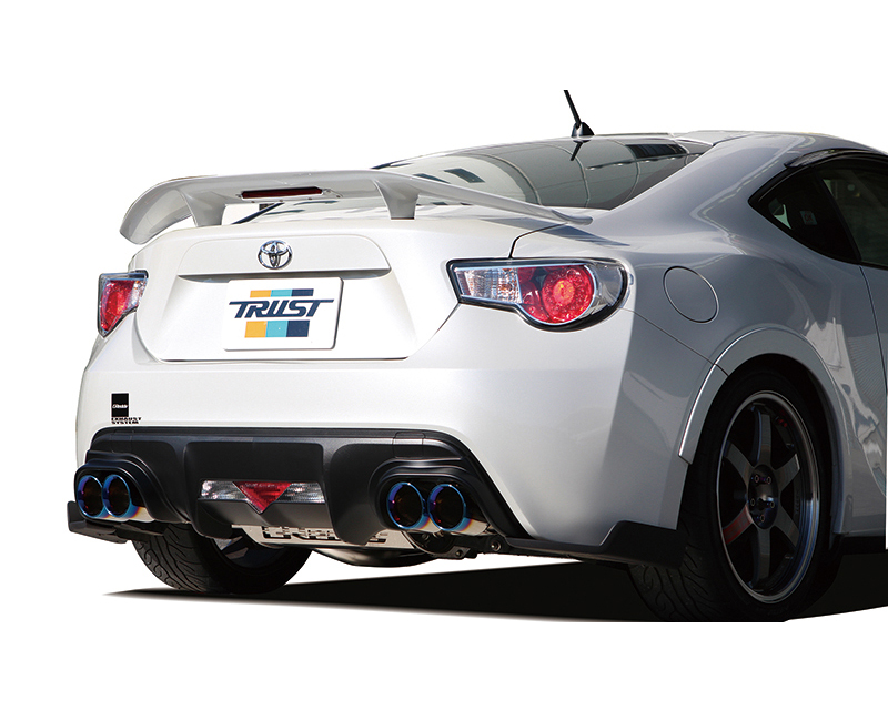 Greddy CS-GTS V.3 Quad Exit Cat Back Exhaust System Toyota GT-86 13-16
