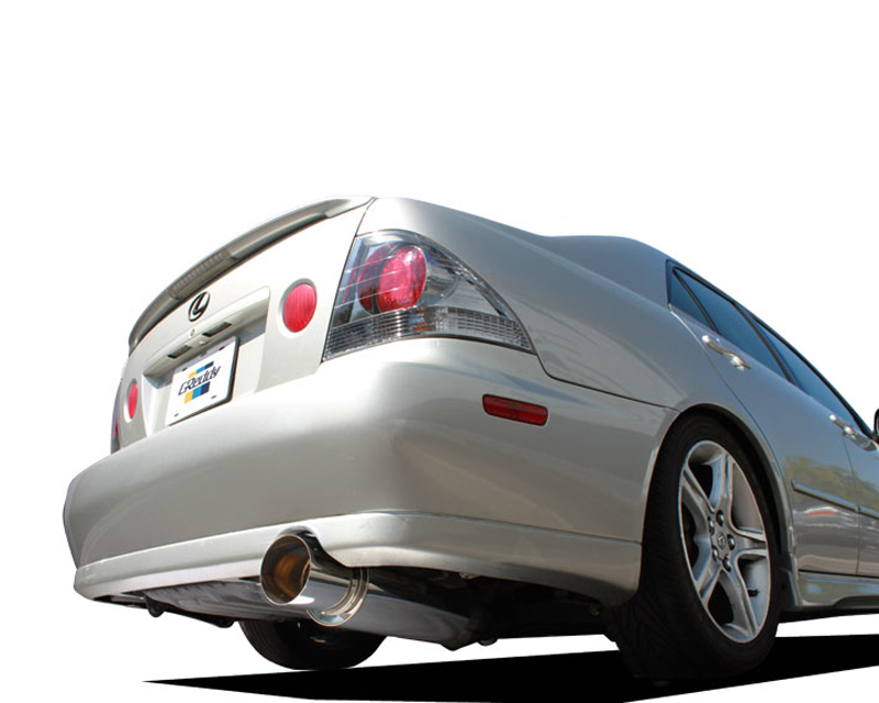 "Greddy Revolution RS 3"" Stainless Steel Catback Exhaust System Lexus IS300 01-05"