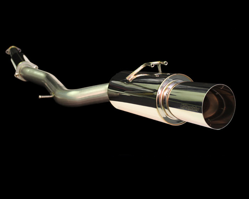 GReddy Revolution RS Single Right Sided Catback Exhaust System Mitsubishi EVO X 08-15