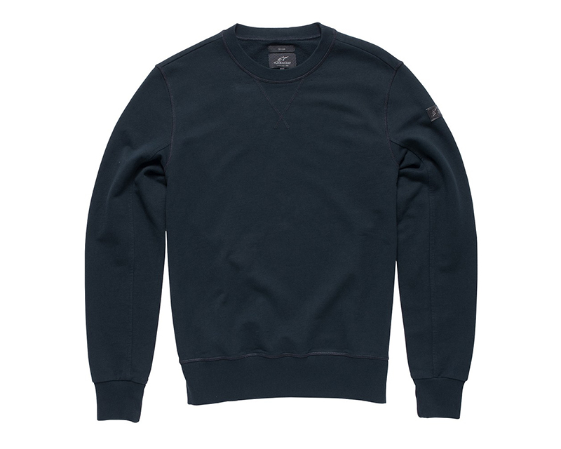 Alpinestars Black Defiance Fleece Sweatshirt | 2XL