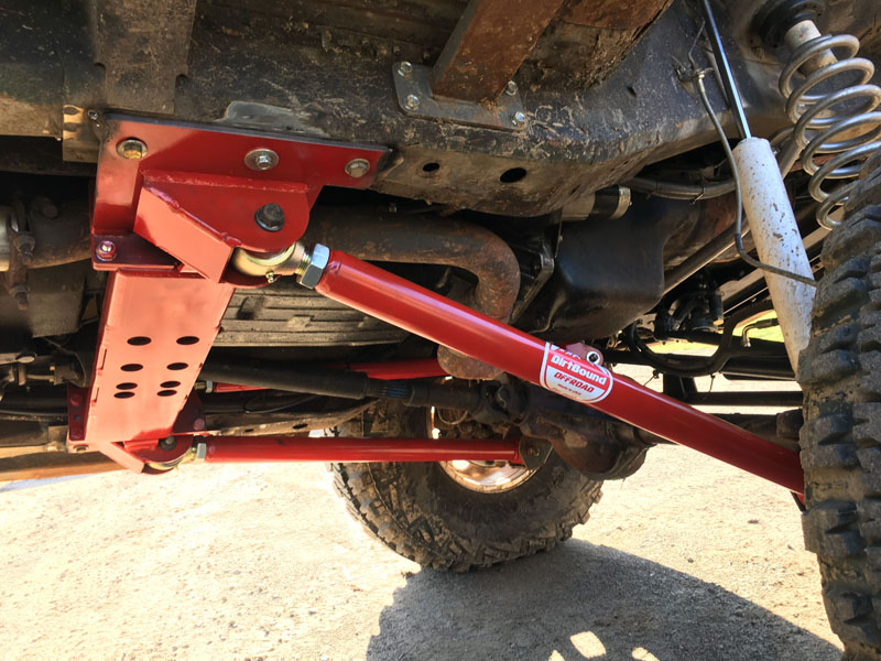 DirtBound Offroad 3 Link Long Arms Jeep Cherokee XJ - 1016012