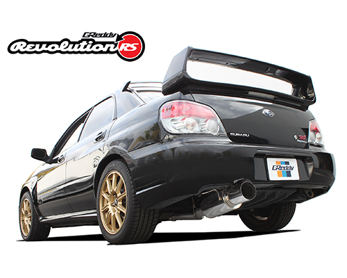 Greddy Revolution RS Exhaust Subaru STi 02-07
