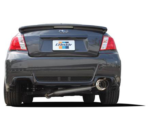 Greddy Revolution RS Exhaust System Subaru STI 11-14