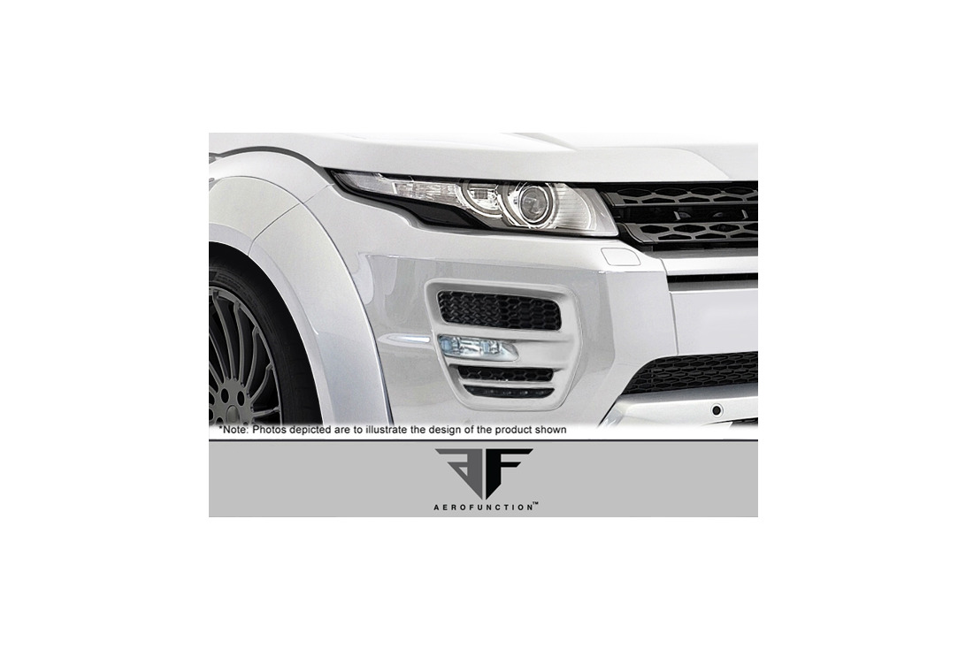 Aero Function AF-1 Light Housings 2 Piece Land Rover Range Rover Evoque 12-15