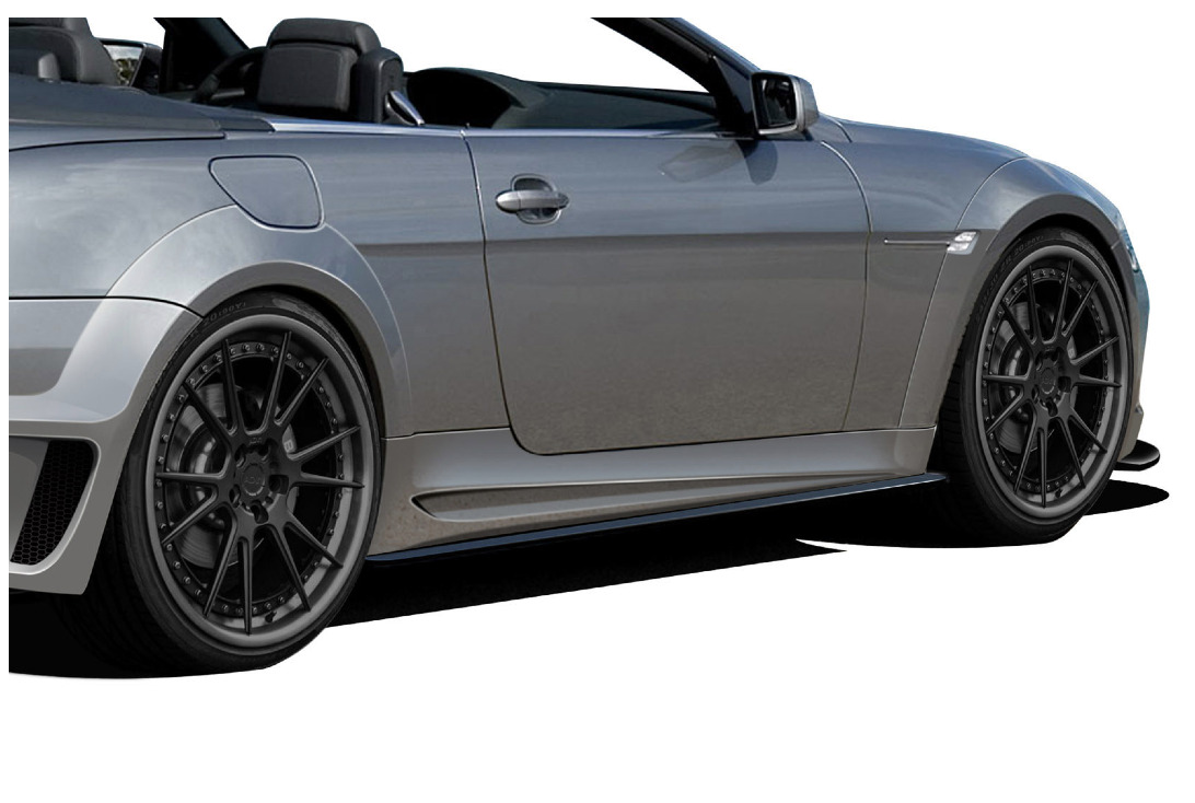 Aero Function AF-2 Wide Body Fender Flares 4 Piece BMW 6-Series E63 E64 2DR Convertible 04-10
