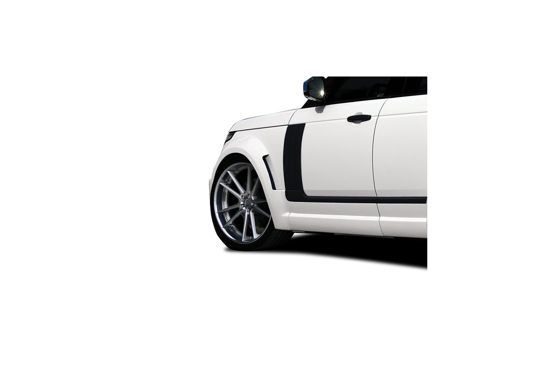 Aero Function AF-1 Wide Body Front Fender Flares 2 Piece Land Rover Range Rover 13-15