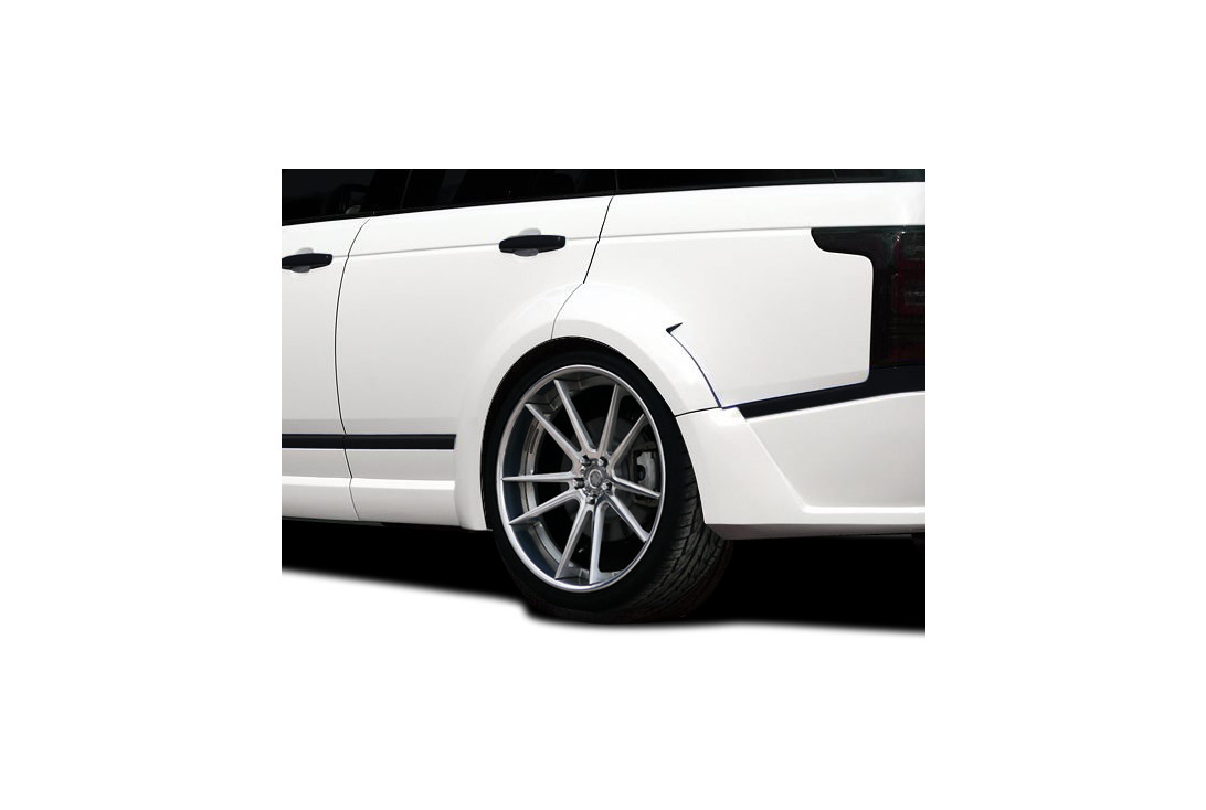 Aero Function AF-1 Wide Body Rear Fender Flares 4 Piece Land Rover Range Rover 13-15