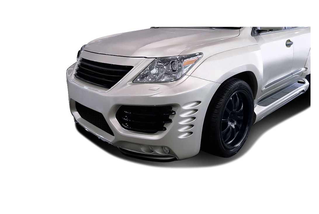Aero Function AF-1 Wide Body Front Fenders 2 Piece Lexus LX570 08-15