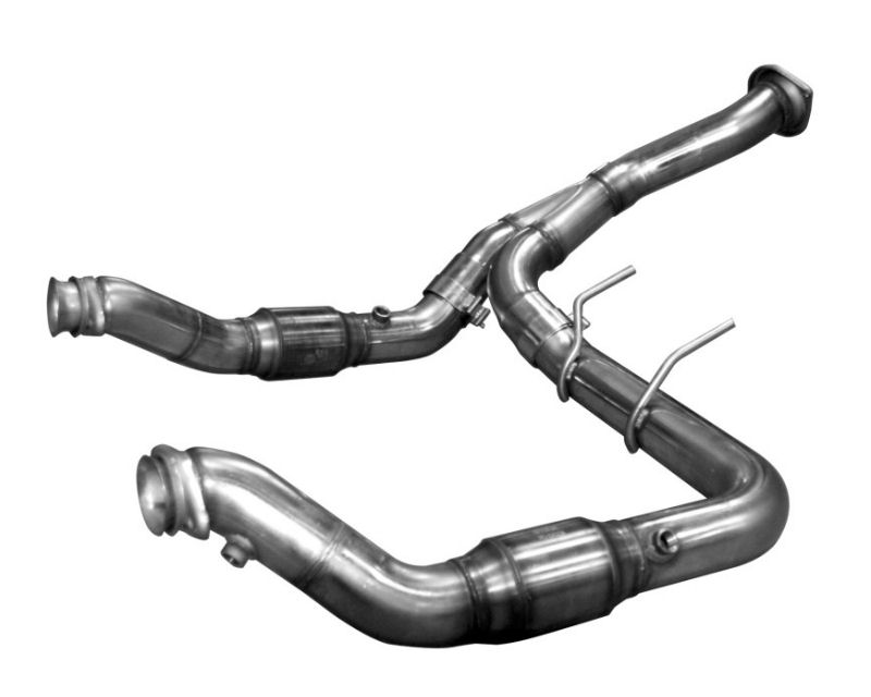 Kooks Stainless Steel 3 inch Catted Downpipe and Y Pipe Ford F150 Eco Boost 3.5L 11-15