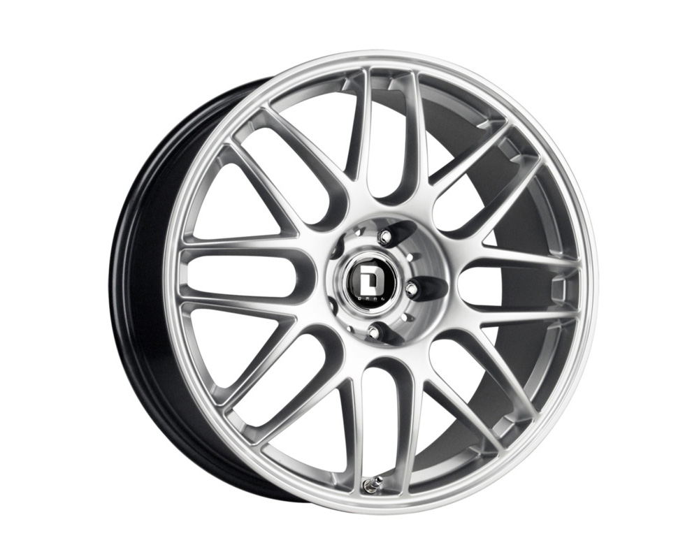 Drag DR-37 17x8 5-112.0 Silver Full Painted