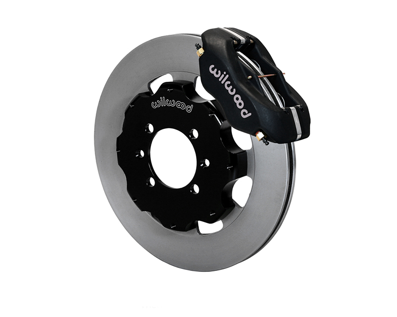 "Wilwood Dynalite Calipers 12.19"" ULHP Plain Face Rotors Black Anodize Mazda MX-5 Miata 16-17"