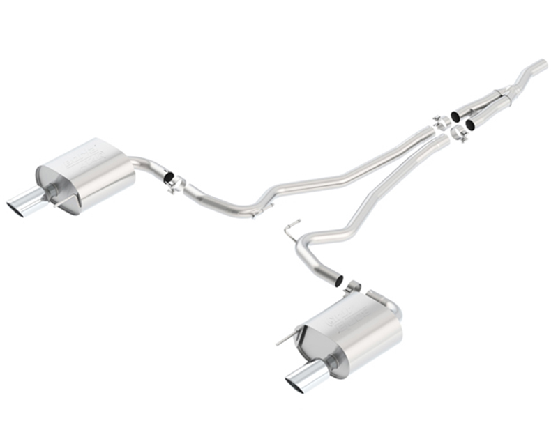 Borla ATAK Catback Exhaust Ford Mustang EcoBoost 2015