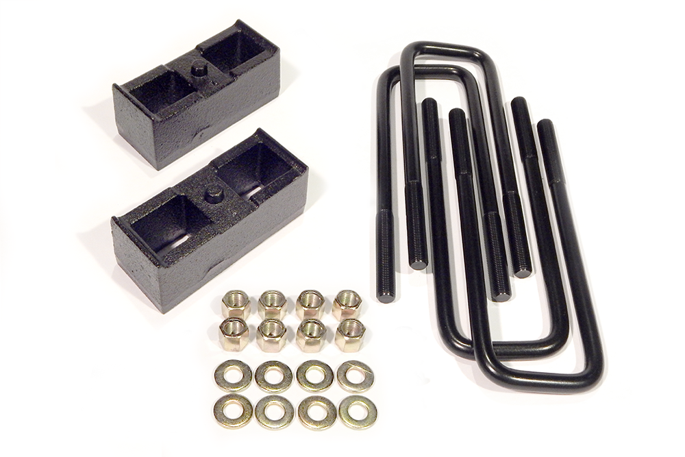 2 Inch Block Kit Rear 99-10 Chevy/GMC 2500 2WD/4WD 8-Lug Not Camper Pkg Southern Truck