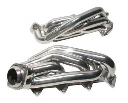 "BBK Chrome 1-5/8"" Shorty Tuned Length Exhaust Headers Ford Mustang GT 05-10"