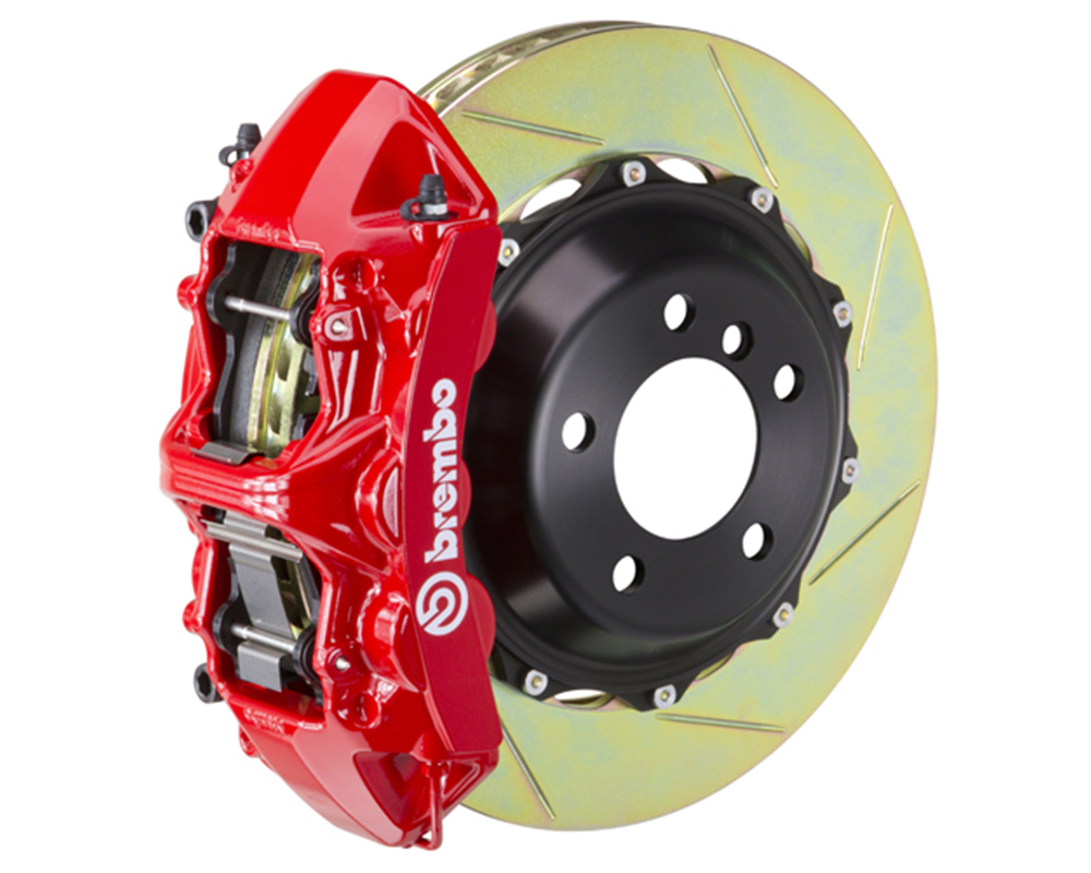 Brembo 355x32 2-Piece 6 Piston Red Front Slotted Big Brake Kit Ferrari F355 94-99