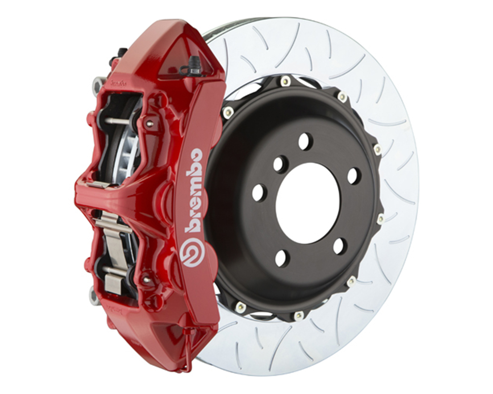 Brembo 355x32 2-Piece 6 Piston Red Front Type-3 Big Brake Kit Ferrari 348 89-93