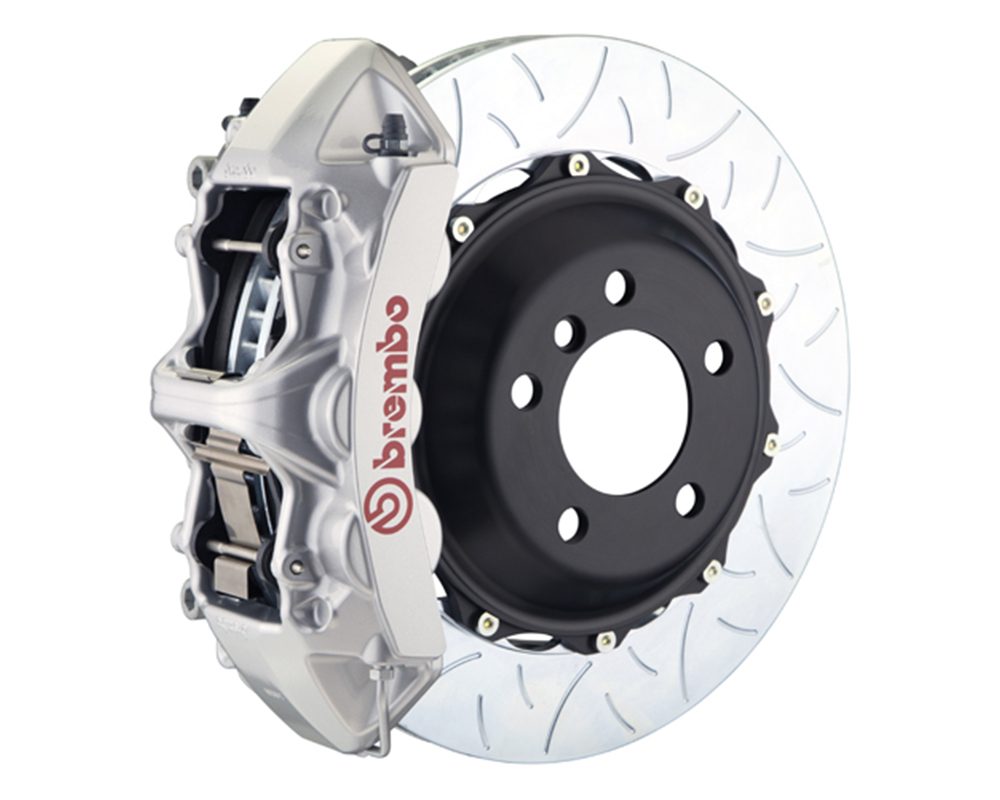 Brembo 355x32 2-Piece 6 Piston Silver Front Type-3 Big Brake Kit Ferrari 348 89-93