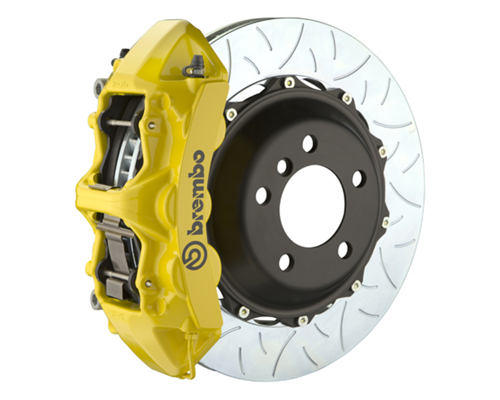 Brembo 355x32 2-Piece 6 Piston Yellow Front Type-3 Big Brake Kit Ferrari 348 89-93