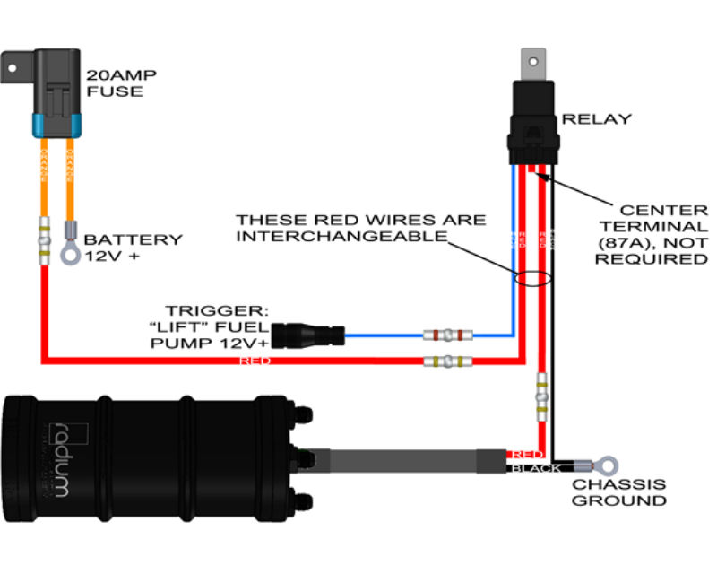 20 0113 Radium Engineering Fuel Surge Tank Install Kit Quantity