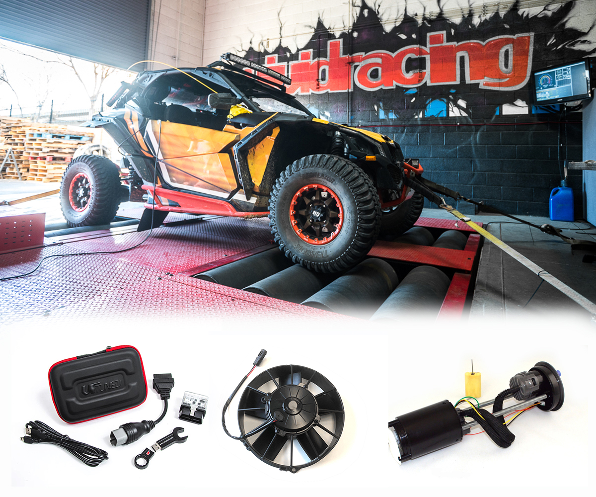 Can-Am X3 2017 154HP to 2018 172HP Upgrade Kit with ECU Flash