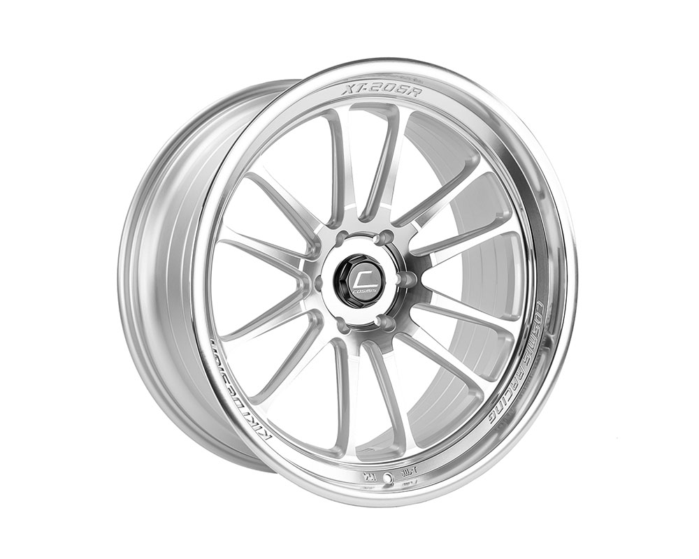Cosmis Racing XT-206R Wheel 22x10 6?139.7 +0mm Silver w/ Machined Face + Lip - XT206R-2210-0-6X139.7-SMF