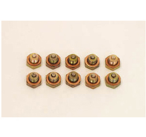 Canton Racing Universal Magnetic Drain Plug & Washer 1/2-Inch -20 Pkg Of 10