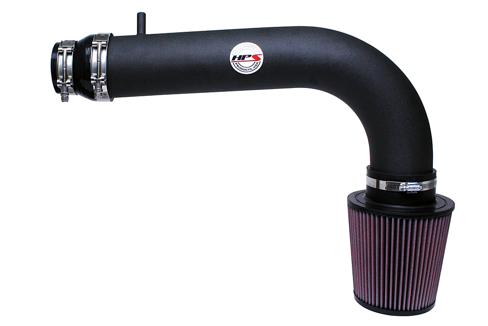 HPS Black Shortram Cool Air Intake Kit 06-08 Honda Ridgeline 3.5L V6