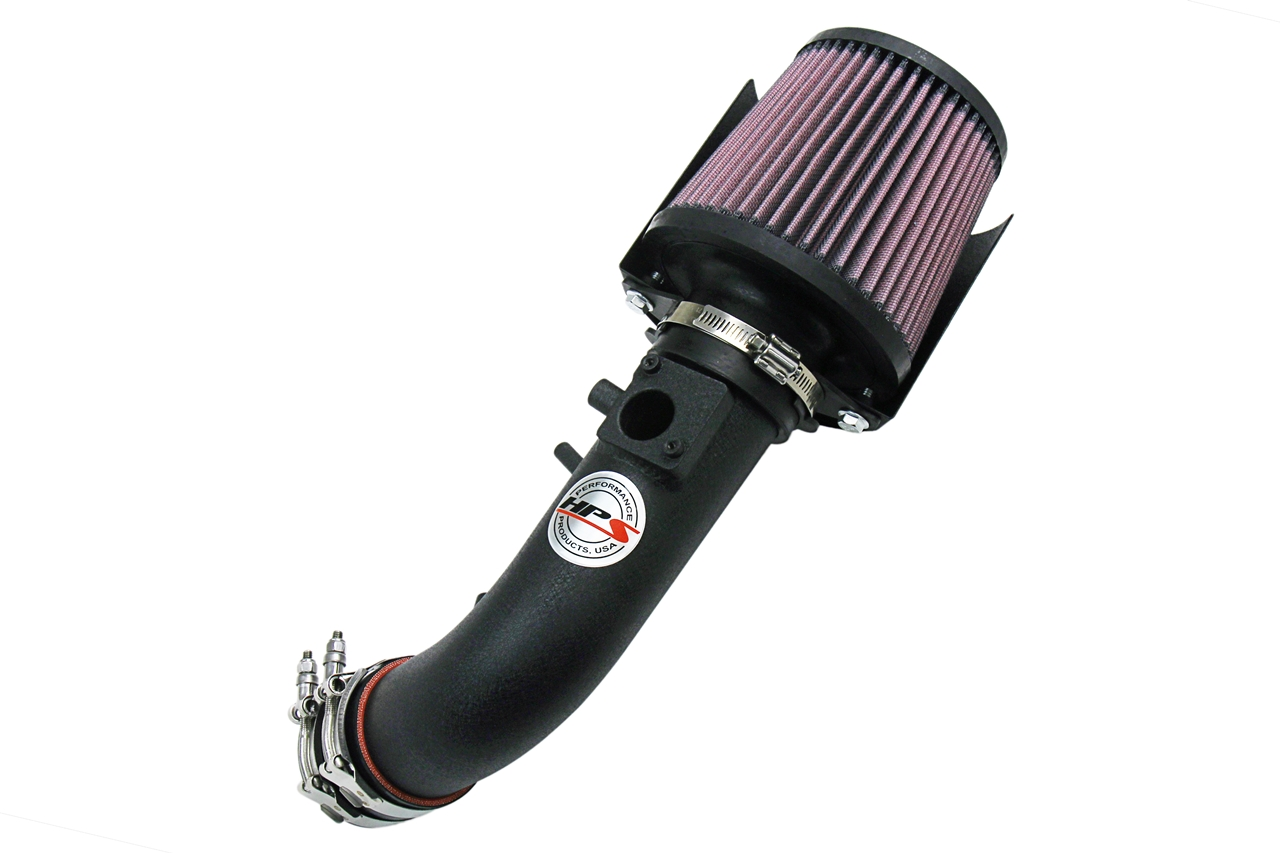 HPS Black Shortram Air Intake + Heat Shield for 07-09 Honda CRV 2.4L