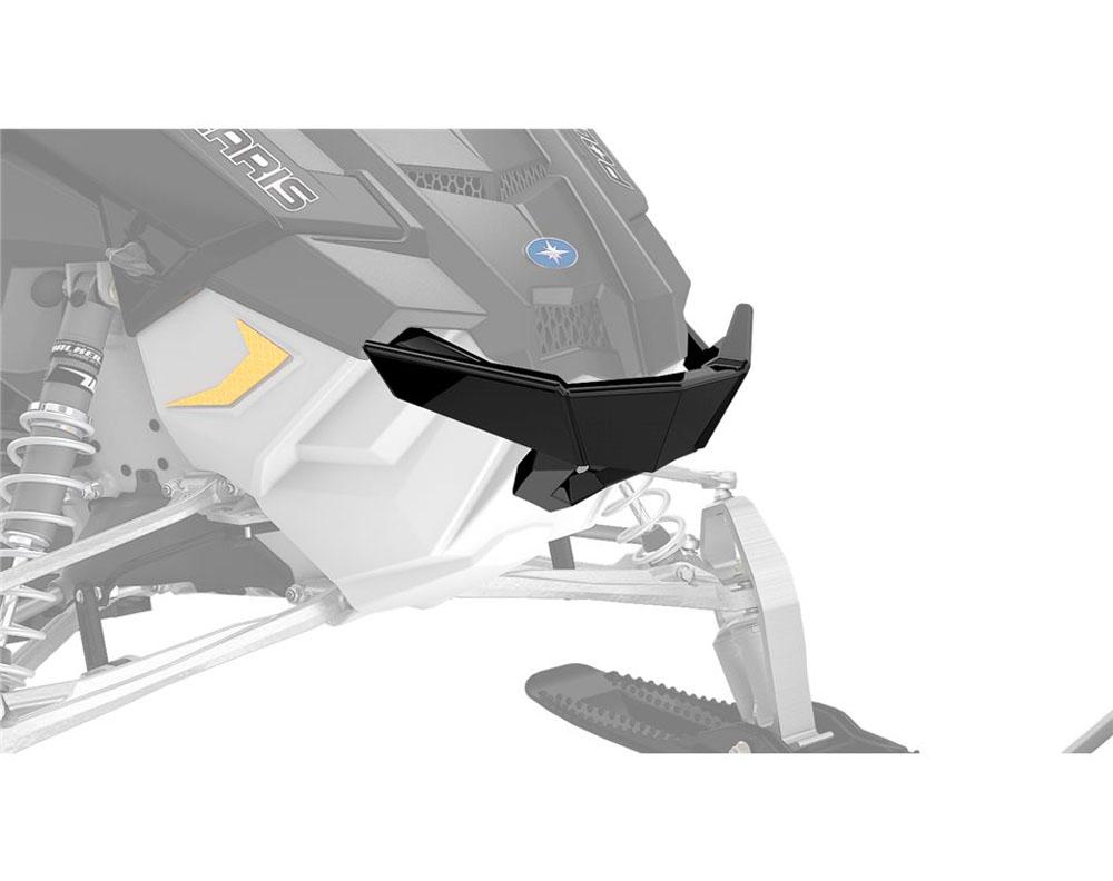 Polaris Elite Front Bumper - Black - 2881942-458