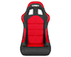 Corbeau Forza Fixed Back Seats in Red Cloth 29107