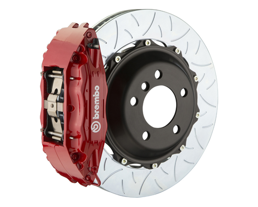 Brembo 355x32 2-Piece 4 Piston Red Rear Type-3 Big Brake Kit Ferrari 348 89-93