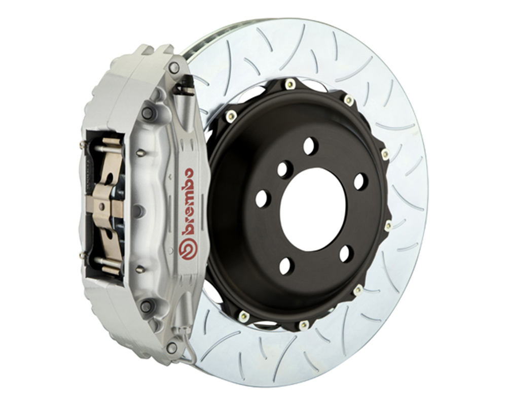 Brembo 355x32 2-Piece 4 Piston Silver Rear Type-3 Big Brake Kit Ferrari 348 89-93