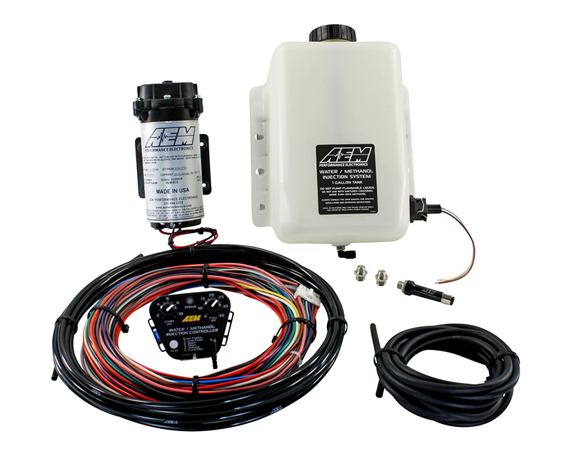 AEM V2 Water | Methanol Injection Kit Standard Controller 1 Gallon Tank