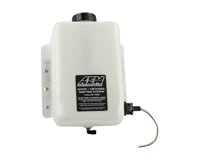AEM V2 Water | Methanol Injection 1 Gallon Tank Kit with Conductive Fluid Level Sensor