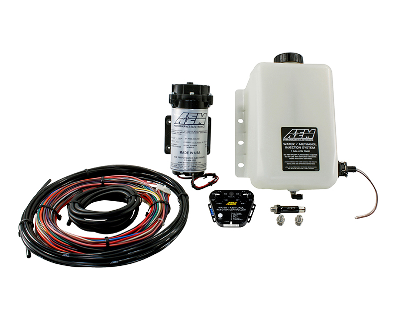 AEM V2 Water | Methanol Injection Kit  Multi Input Controller with 1 Gallon Tank - 30-3350