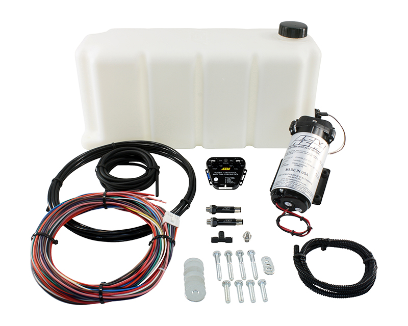 AEM V2 Water | Methanol Injection Kit Multi Input Controller with 5 Gallon Tank