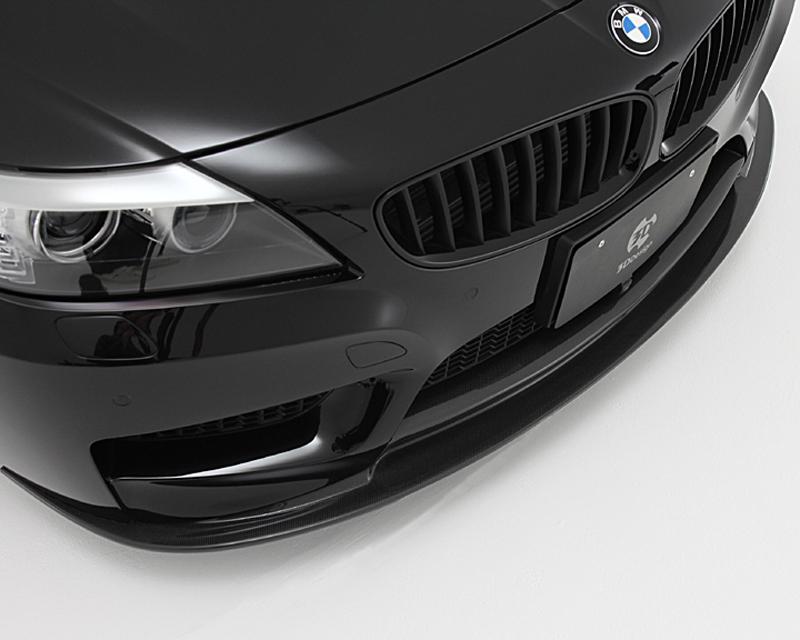 3d Design Carbon Fiber Front Lip Spoiler Bmw Z4 E89 M