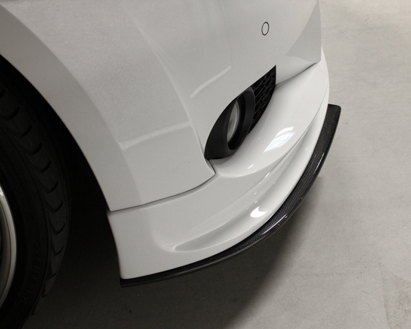 3D Design Carbon Fiber Front Under Splitter BMW 3 Series E92 | E93 M Sport 06-11