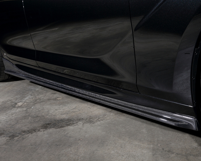 3D Design Carbon Fiber Side Skirt BMW 6 Series F06 M Sport 12-15