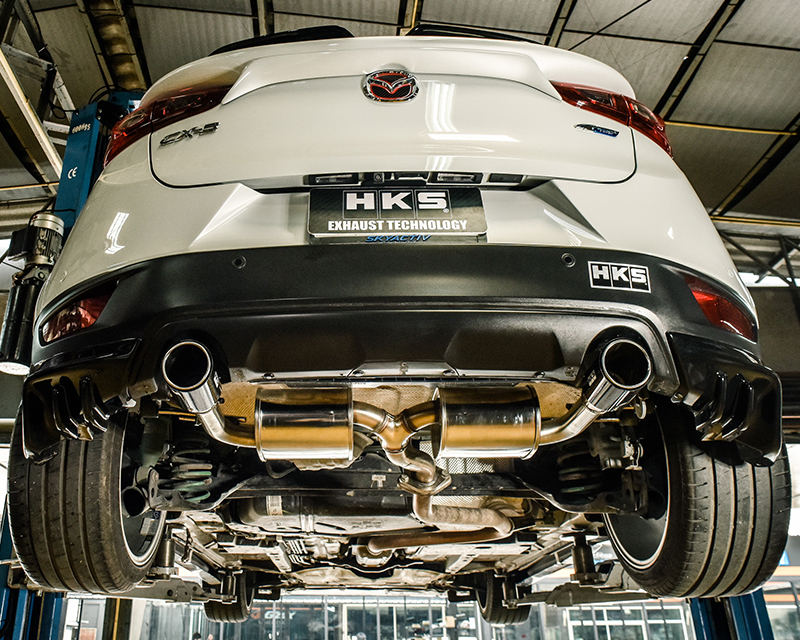 HKS Touring Spec L Exhaust System Mazda CX-3 16-17