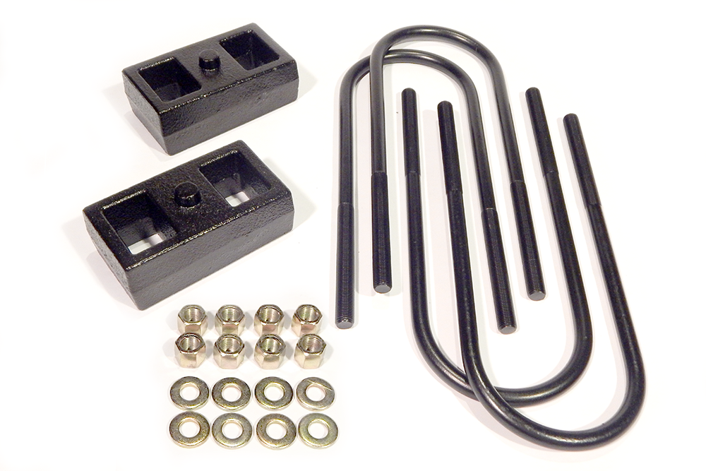 1 Inch Block Kit Rear 03-13 Ram 2500/3500 2WD/4WD w/Out Camper Package Southern Truck