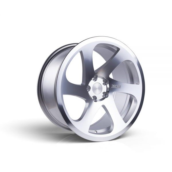 3SDM Silver Cut 06 Cast Wheel 19x8.5 5x112 +35/42mm - 3SDM-06-1985-5X112+3542