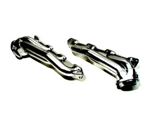 "BBK Chrome 1-3/4"" Shorty Tuned Length Exhaust Headers 5.7L Hemi Dodge Charger 05-10 Challenger 08-12 Magnum 05-08"